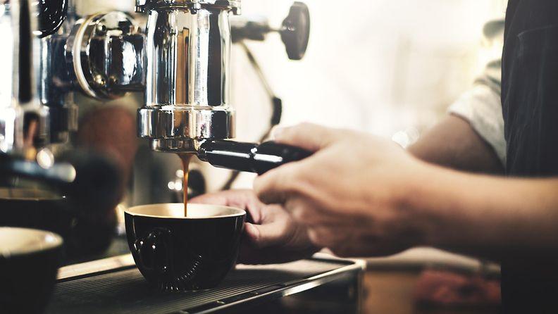 kahvila, barista, kahvi