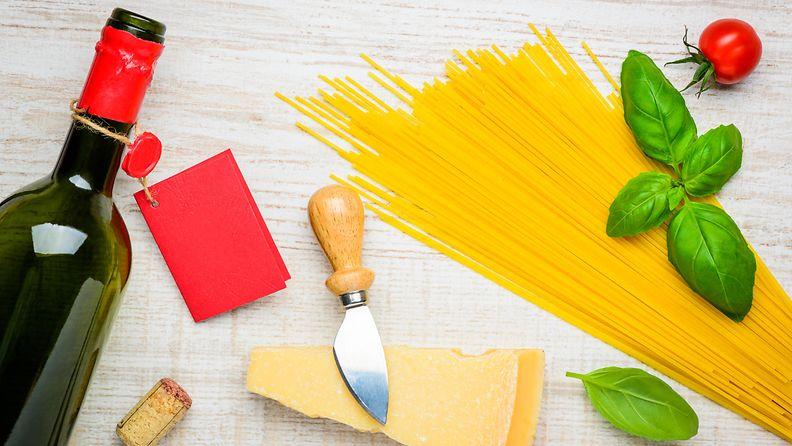 spagetti viini