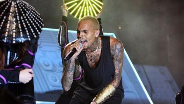 Chris Brown esiintyi Etelä-Afrikassa joulukuu 2012