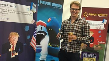 Psyon Gamesin toimitusjohtaja Olli Rundgren