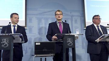 Juha Sipilä hallitus budjettiriihi