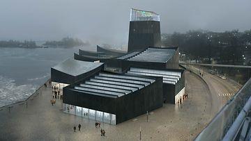 Guggenheim-arkkitehtuurikisan voittanut ehdotus