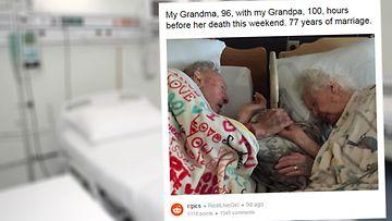 77 vuotta naimisissa, rakkaus