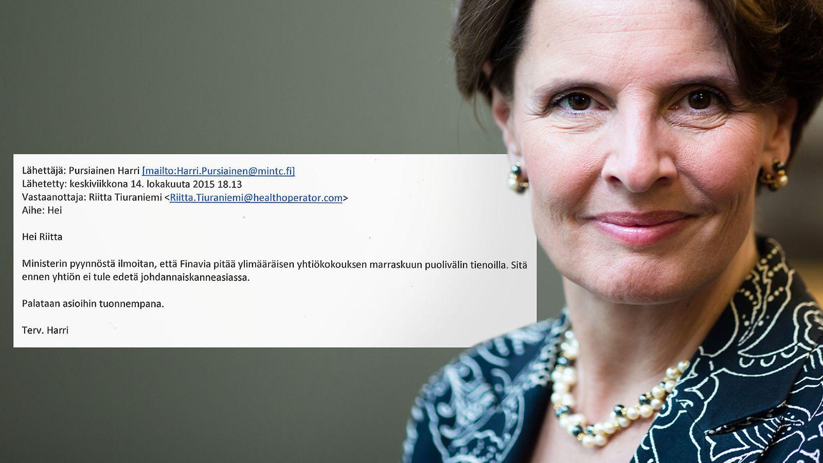 Finavia-jupakka jatkuu: Berner kiistää kieltäneensä kanteiden noston ex-johtajia vastaan ...