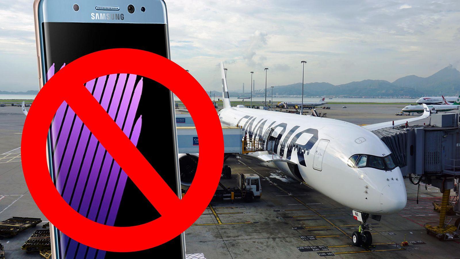 Finnair: Räjähdysherkkä Samsung-puhelin käsimatkatavaroihin ja kiinni lennon ajaksi - Lifestyle ...