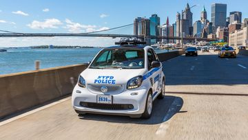 smart fortwo nypd 2