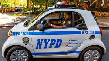 smart fortwo nypd 3