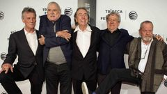 Monty Python huhtikuu 2015 Michael Palin, John Cleese, Eric Idle, Terry Jones, Terry Gilliam