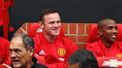 Wayne Rooney, Ashley Young