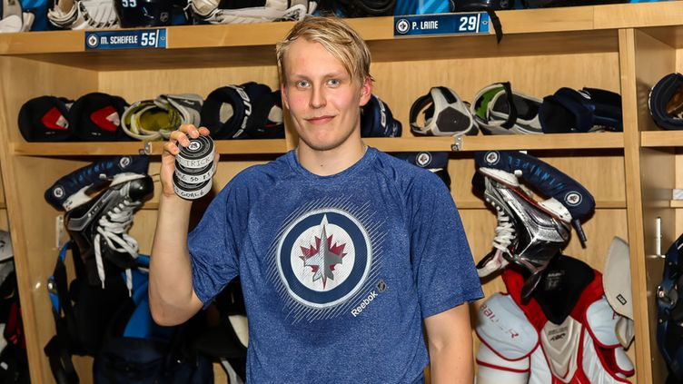 Laine: Proud Of My Team, Proud I Scored Winner (video)