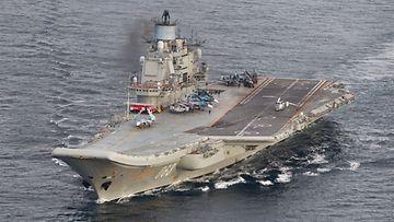 Admiral Kuznetsov Norjan sotavoimien kuvaamana