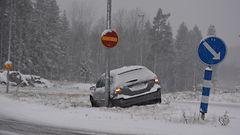 It�-Suomessa kes�renkailla ei asiaa tielle keskiviikkonakaan