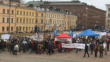 Yleiskaava, mielenosoitus, Helsinki