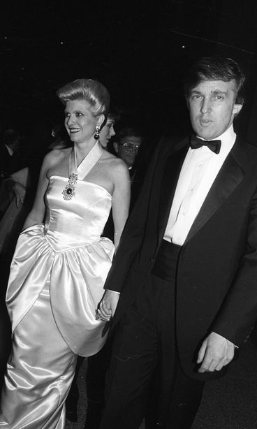 Ivana ja Donald Trump tammikuussa 1988. Copyright: Copyright Rex ...