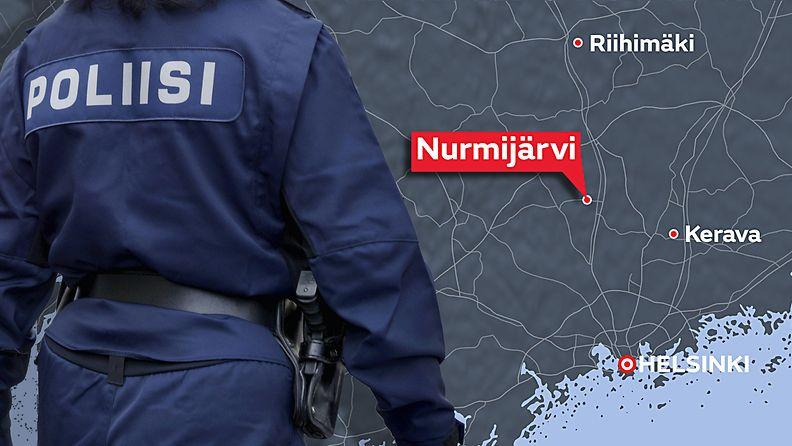 14-vuotias pahoinpideltiin Nurmijärvi