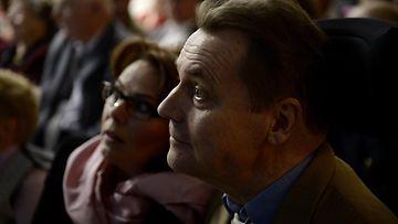 Timo T.A. ja Nina Mikkonen syyskuussa 2012