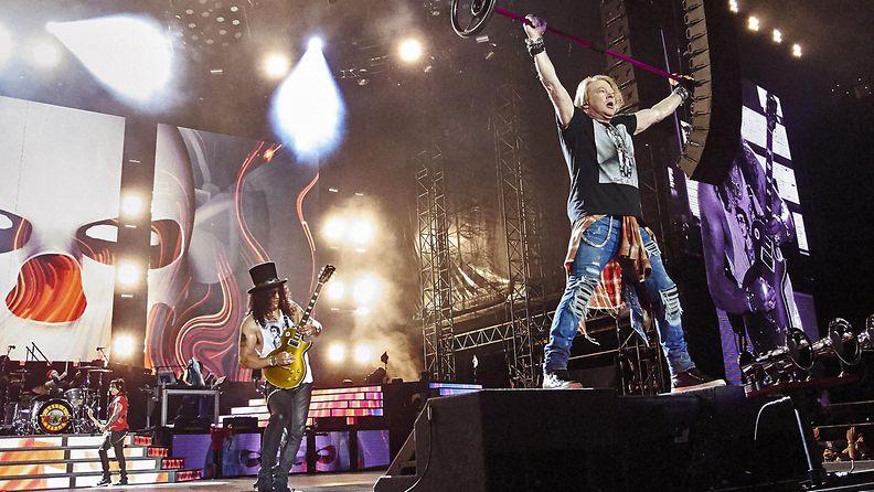 Guns N' Roses Chicagossa 3.7.2016