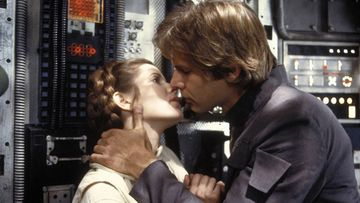 Carrie Fisher ja Harrison Ford 1980 (1)