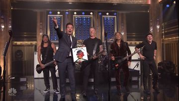 Metallica Jimmy Fallon Show'ssa 30.9.2016