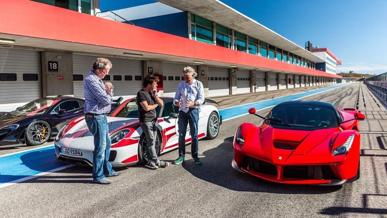 The Grand Tour: Jeremy Clarkson, Richard Hammond, James May @ Dubai 7.11.2016 1