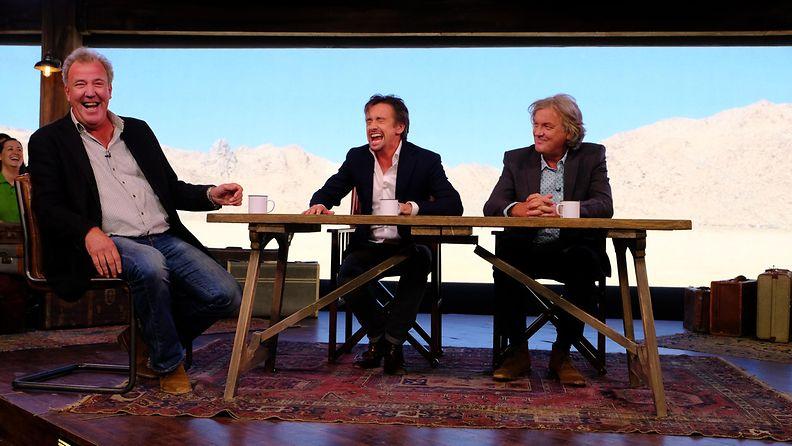 The Grand Tour: Jeremy Clarkson, Richard Hammond, James May @ Dubai 7.11.2016 2