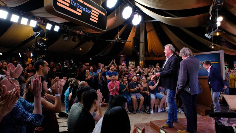 The Grand Tour: Jeremy Clarkson, Richard Hammond, James May @ Dubai 7.11.2016 3