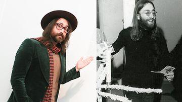 Sean ja John Lennon
