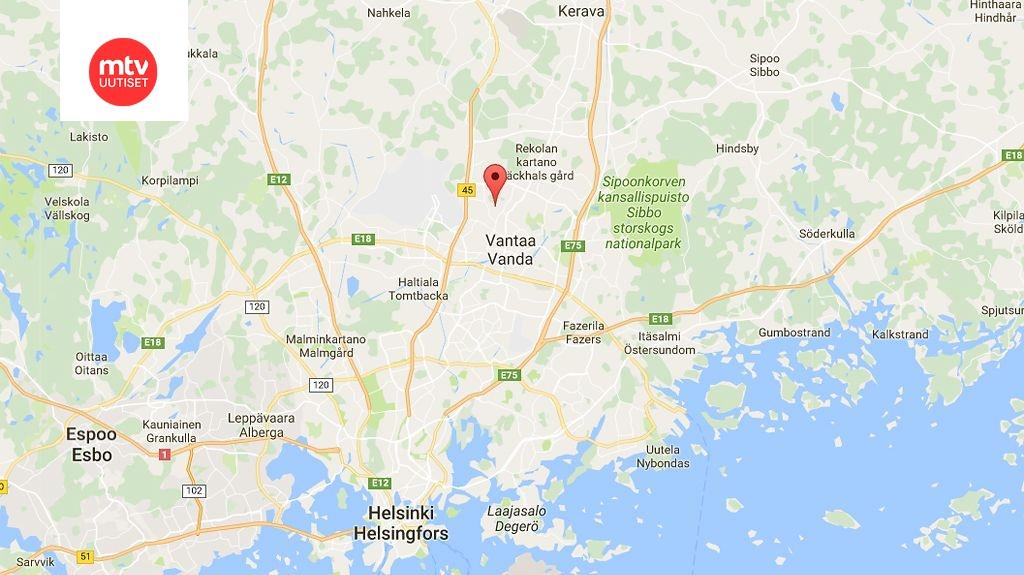 Vantaalla Raju Rivitalopalo Nelja Ihmista Pelastettu Mtvuutiset Fi