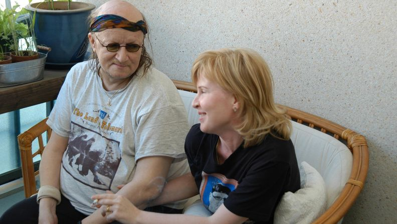 Juice ja Sari Leskinen 9.6.2004