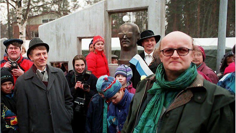Juice Leskinen Juicentorilla Juankoskella 16.11.1995