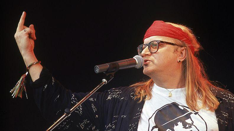 Juice Leskinen Provinssirockissa 9.6.1991