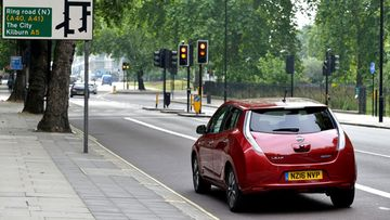 Nissan LEAF Congestion Charge 1