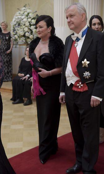 Olli Rehn Merja Rehn