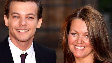 Louis Tomlinson ja äiti