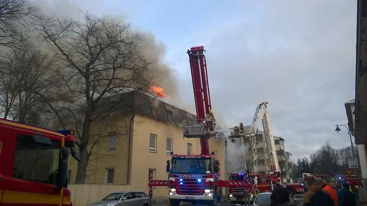 Tulipalo Uusikaupunki