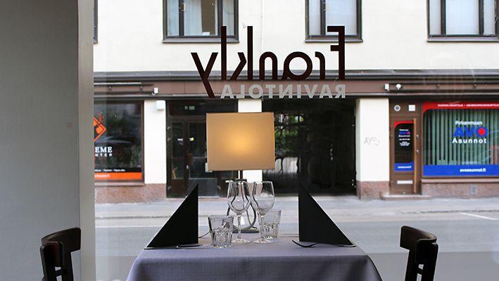 Ravintola-arvostelu: Frankly, Tampere - MTV.fi