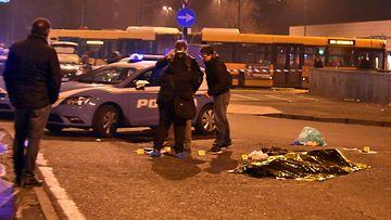 Berliinin iskusta epäilty ammuttiin Milanossa (9)