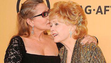 Carrie Fisher ja Debbie Reynolds 25.1.2015 2