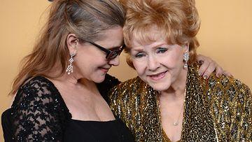 Carrie Fisher ja Debbie Reynolds tammikuu 2015