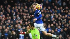 Tom Davies Everton 2017