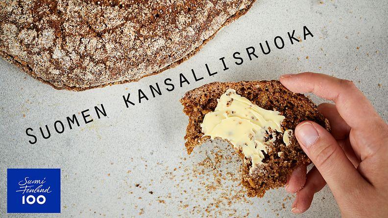 Suomen kansallisruoka ruisleipä
