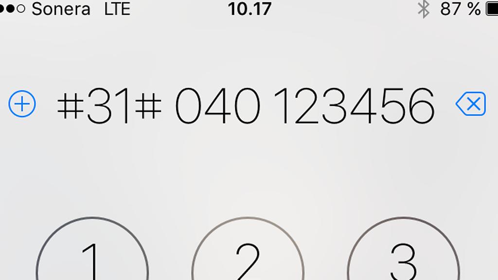 yksityinen numero soittaa