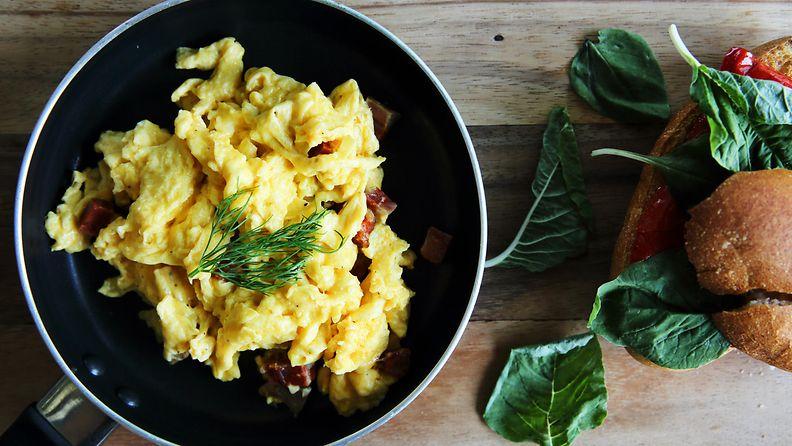 munakokkeli muna aamupala