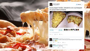 PIzza Ananas Twitter