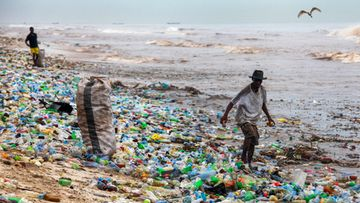 muovi, muovijäte, Ghana