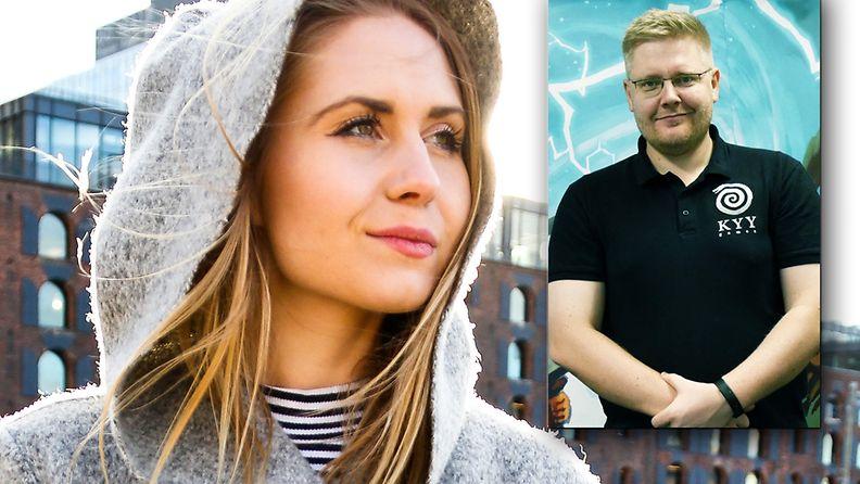 Maija Anttila ja Mika Rosendahl