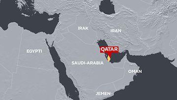 Qatar-kylmyys