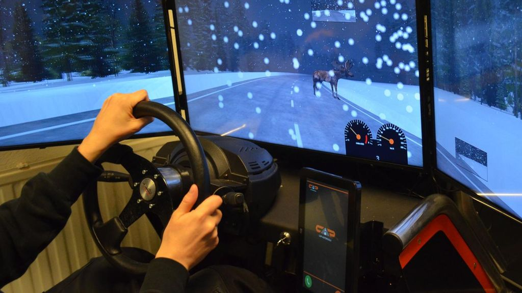 Autokoulu Simulaattori