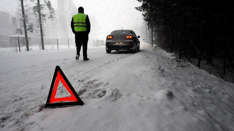 auto varoituskolmio