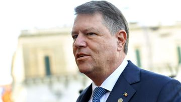 Romanian presidentti Klaus Werner Iohannis
